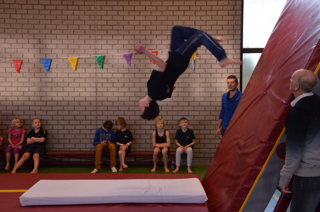 Demonstratie freerunning